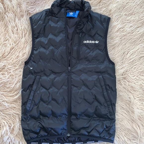 Adidas Mens puff vest
